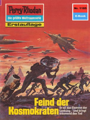 cover image of Perry Rhodan 1185