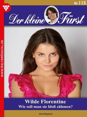 cover image of Der kleine Fürst 115 – Adelsroman