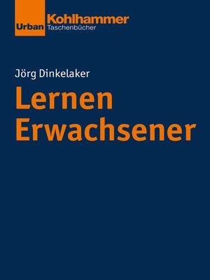 cover image of Lernen Erwachsener