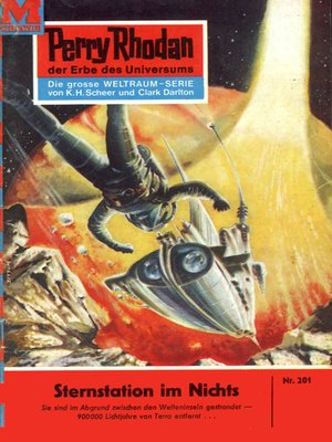 cover image of Perry Rhodan 201
