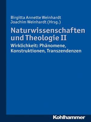cover image of Naturwissenschaften und Theologie II