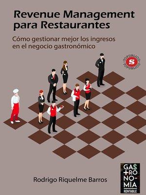 cover image of Revenue Management para Restaurantes