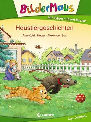 cover image of Bildermaus--Haustiergeschichten