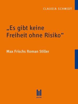 """cover image of """"Es gibt keine Freiheit ohne Risiko"""""""