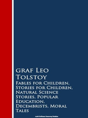 cover image of Fables for Children, Stories for Children, Naturion, Decembrists, Moral Tales