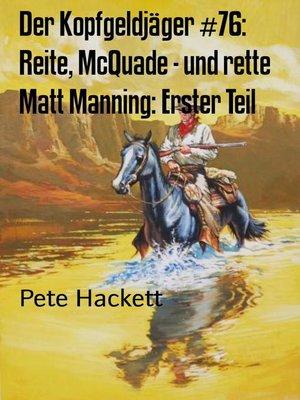 cover image of Der Kopfgeldjäger #76