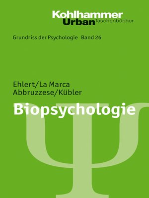 cover image of Biopsychologie