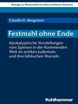 cover image of Festmahl ohne Ende