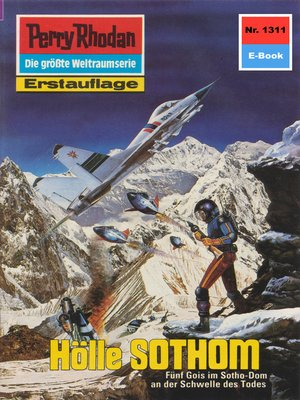 cover image of Perry Rhodan 1311