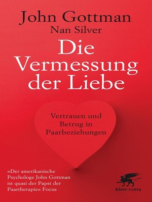 cover image of Die Vermessung der Liebe