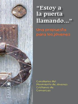 cover image of 'Estoy a la puerta llamando...' Una propuesta para los jóvenes
