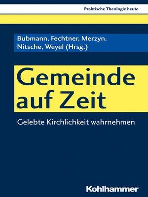 cover image of Gemeinde auf Zeit