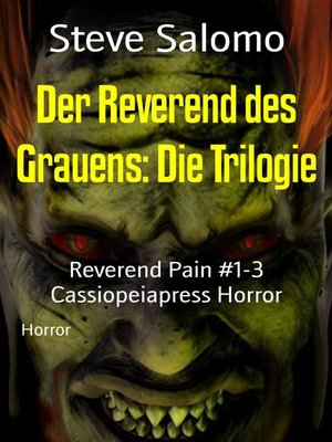 cover image of Der Reverend des Grauens