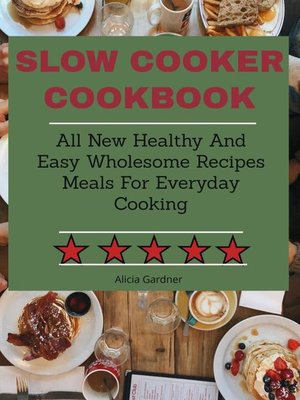 cover image of Slow Cooker cookbook
