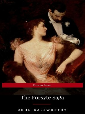cover image of The Forsyte Saga complete collection