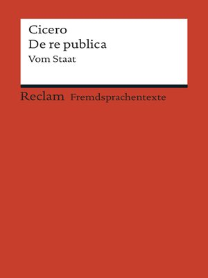 cover image of De re publica