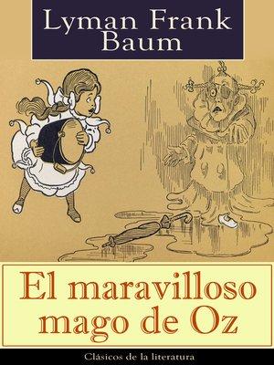 cover image of El maravilloso mago de Oz