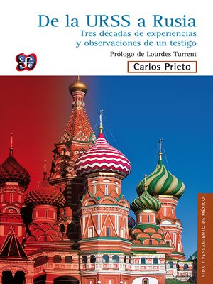 cover image of De la URSS a Rusia