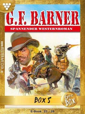 cover image of G.F. Barner Jubiläumsbox 5 – Western
