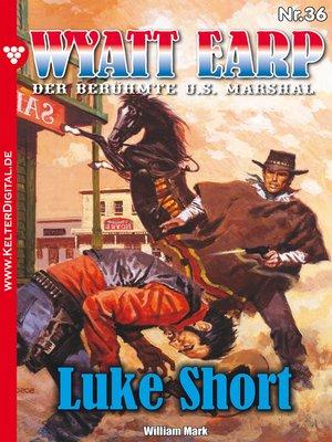 cover image of Wyatt Earp 36 – Western