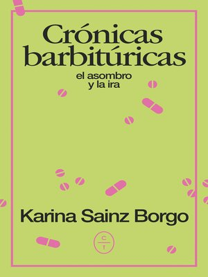 cover image of Crónicas barbitúricas