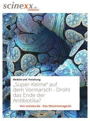 """cover image of """"Super-Keime"""" auf dem Vormarsch"""
