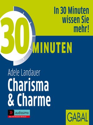 cover image of 30 Minuten Charisma & Charme