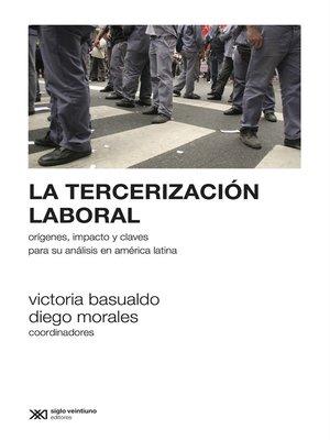 cover image of La tercerización laboral