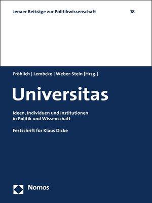 cover image of Universitas
