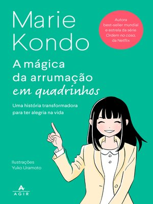 cover image of A mágica da arrumação em quadrinhos--HQ