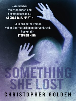 cover image of Something she lost