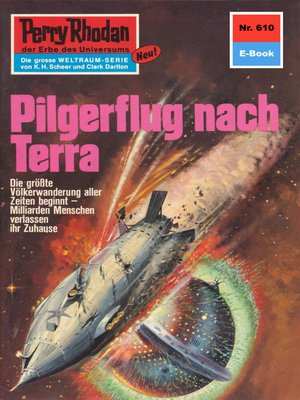 cover image of Perry Rhodan 610