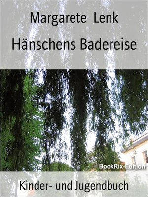 cover image of Hänschens Badereise