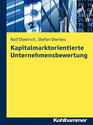 cover image of Kapitalmarktorientierte Unternehmensbewertung