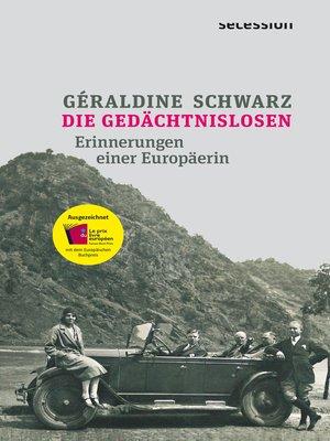 cover image of Die Gedächtnislosen