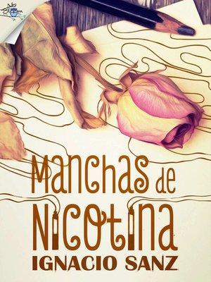 cover image of Manchas de nicotina