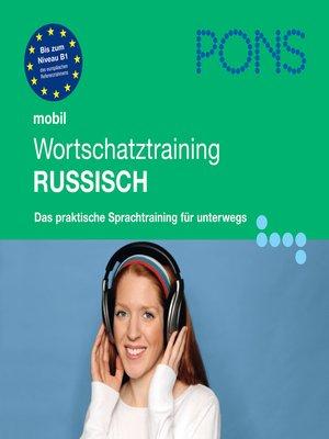 cover image of PONS mobil Wortschatztraining Russisch