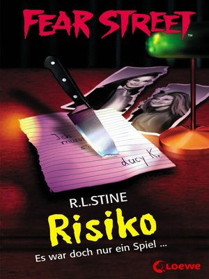 cover image of Fear Street 45--Risiko