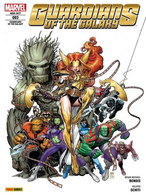 cover image of Guardians of the Galaxy 3