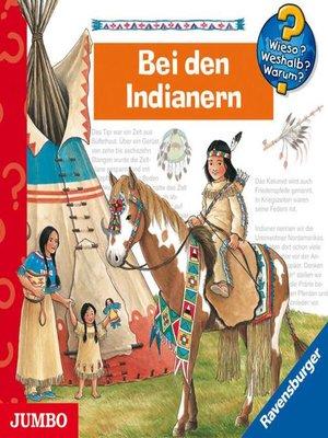 cover image of Wieso? Weshalb? Warum? Bei den Indianern