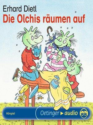 cover image of Die Olchis räumen auf