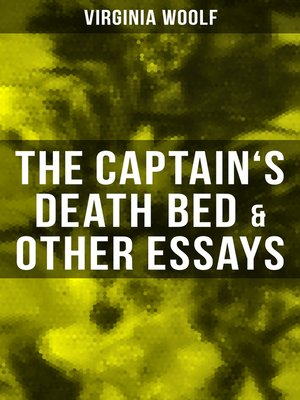 cover image of The Captain's Death Bed & Other Essays