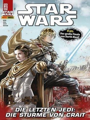 cover image of Star Wars, Comicmagazin 32--Darth Maul, Die Stürme von Crait