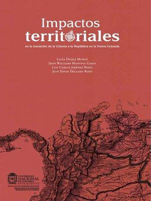 cover image of Impactos territoriales