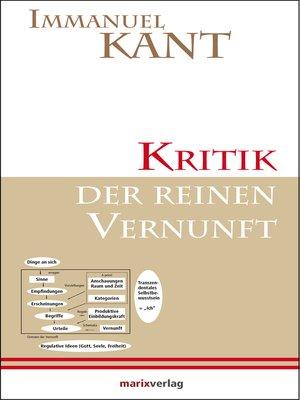 cover image of Kritik der reinen Vernunft