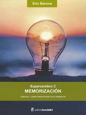 cover image of Supercerebro C. Memorización