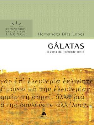 cover image of Gálatas