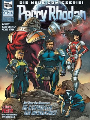 cover image of Perry Rhodan Comic 1