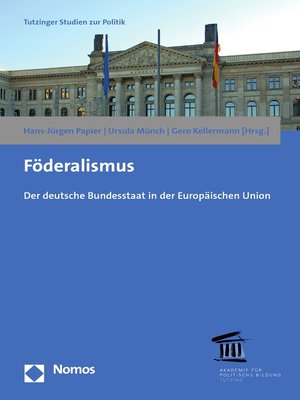 cover image of Föderalismus