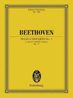 cover image of Piano Concerto No. 3 C minor